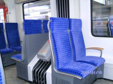 S-Bahn zum Flughafen Bahnhof - Flughafen Düsseldorf (DUS)
