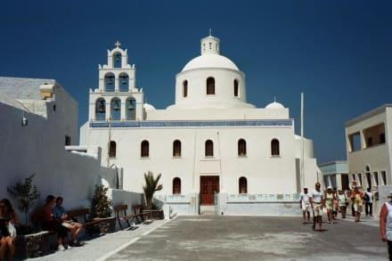 Santorin - Oia - Kirche von Panagia