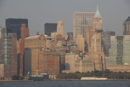 Blick von See - Hafen New York
