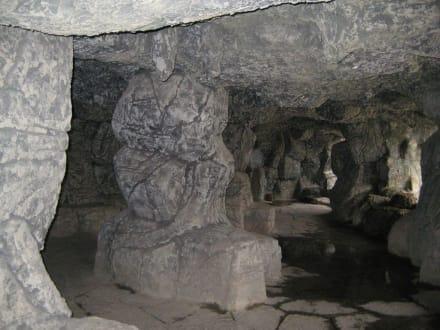 Im Innern des Brunnen - Brunnen in Belek