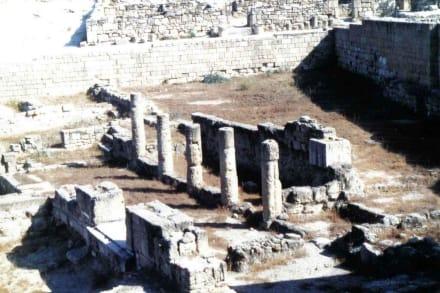 Die antike Stätte von Kamiros - Ausgrabung Kamiros Skala