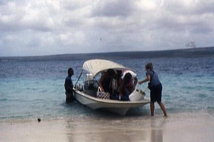 Ankunft auf Klein-Bonaire - Insel Klein-Bonaire