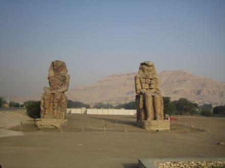 Die Memnon Kollosse - Kolosse von Memnon