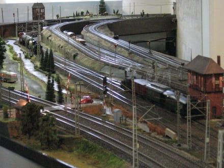 Spur I-Anlage - Gleisvorfeld - Museum für Hamburgische Geschichte