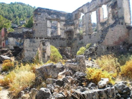 Kayaköy - Griechische Siedlung Kayaköy
