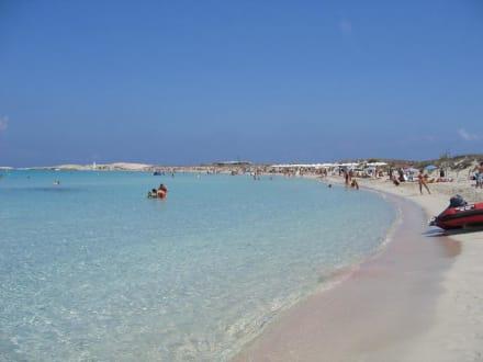 Strand von Ses Illetas - Strand Illetas