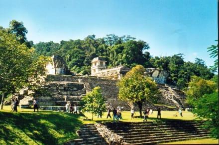 Palenque, el Palacio - Maya Pyramiden Palenque