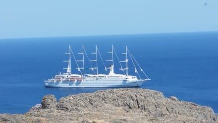 Rückfahrt von Rhodos Stadt - Hafen Rhodos