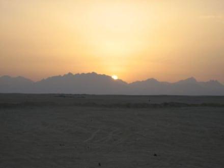 Sonnenuntergang - Quad Tour Hurghada