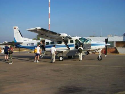 Flieger zum Delta - Orinoco Delta
