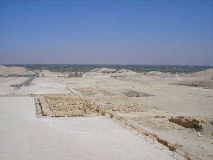 Ausblick vom Hatschepsuttempel - Tempel der Hatschepsut