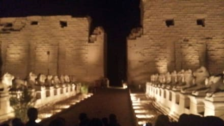 Karnak Lichter und Ton Show  - Amonstempel Karnak