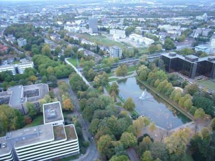 Blick vom Fernsehturm Florian - Fersehturm Florian