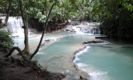 Fluss/See/Wasserfall - Khouang Sy Wasserfälle
