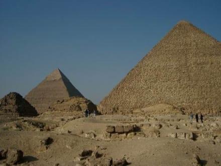 Giseh Pyramiden / Kairo / Ägypten - Pyramiden von Gizeh