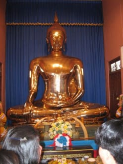 Goldener Budda - Wat Traimit / Goldener Buddha