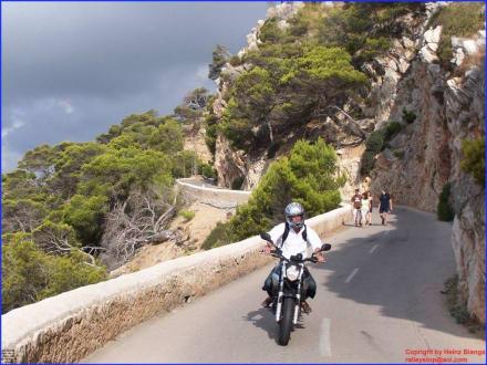 Zufahrt zur Höhle - Höhlen von Arta/Cuevas de Artá