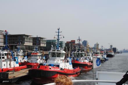 Schlepper-Boote - Hafen Hamburg