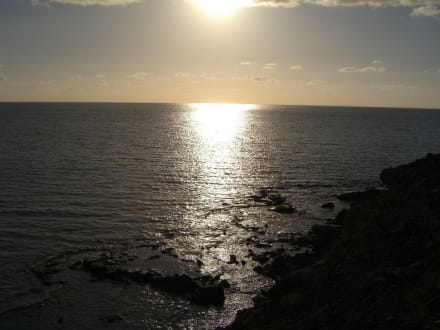 Sonnenuntergang - Strand Playa de Esquinzo / Playa de Butihondo