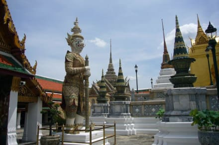 Wat Phra Keo - Wat Phra Keo und Königspalast / Grand Palace