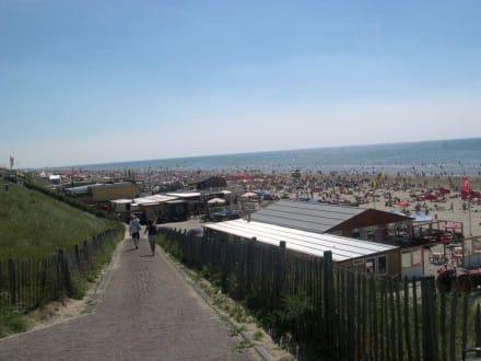 Weg zum Zandvoorter Strand - Strand Zandvoort
