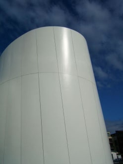 Fassadenteil auf der Rückseite Ozeaneum - Ozeaneum