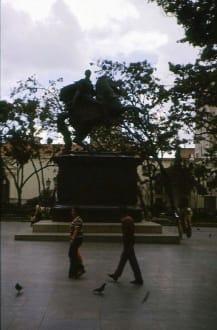 Das Reiter-Denkmal Simon Bolivar - Reiter-Denkmal Simon Bolivar