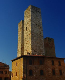 Historic sites (castle, palace, ruins, etc.) - San Gimignano Old Town