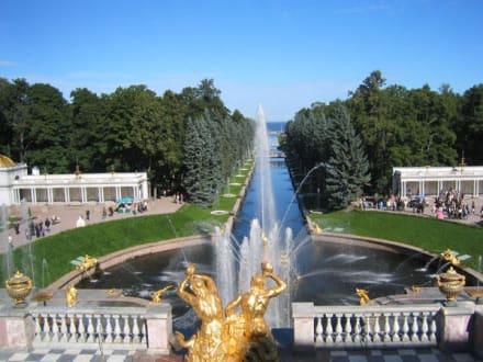 Peterhof in St. Petersburg - Palastanlage Peterhof