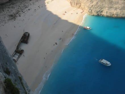 Schiffswrack - Bucht Navagio / Schmuggler Bucht / Schiffswrack