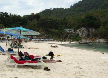 Hauptstrand / Westseite - Koh Raya Yai / Racha Island
