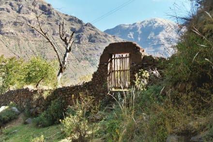 Tal der Inka - Inka Trail