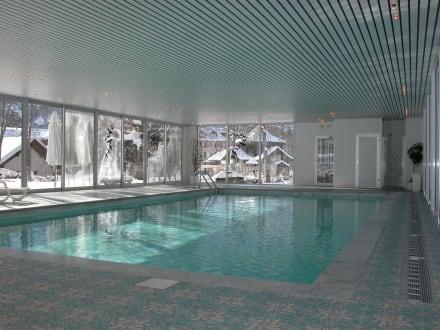 Hallenbad - Belle Epoque Hotel Victoria