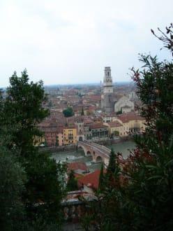 Blick auf Verona - Torre dei Lamberti
