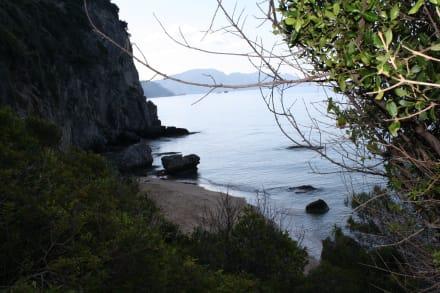 Der Strand von Mirtiotissa - Strand Mirtiotissa