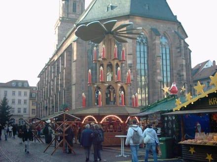 Weihnachtsmarkt - Weihnachtsmarkt Heidelberg
