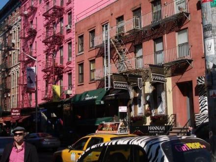Strassen in Soho - SOHO/Greenwich Village