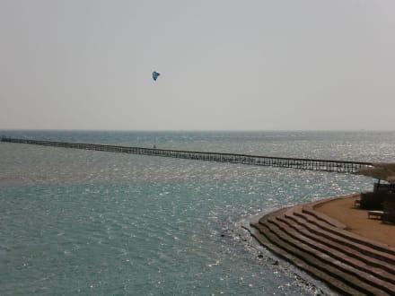 Steg war geschlossen/Baufällig - Mangrovy Beach