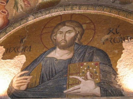 Chora-Kirche, Mosaik - Kariye-Museum / Chora-Kirche