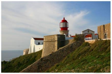Leuchtturm am Cabo de Sao Vicente - Cabo de Sao Vicente