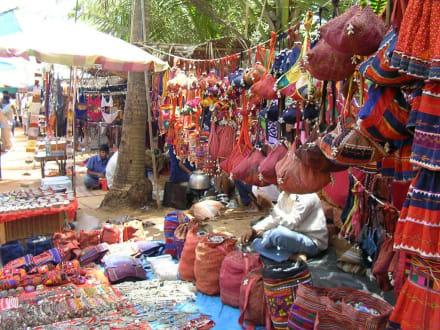 Hippiemarkt Anjuna - Hippiemarkt