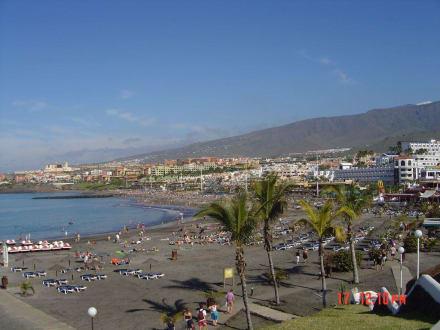 Der Strand von Playa de Fanabe - Strand Playa de Fanabe