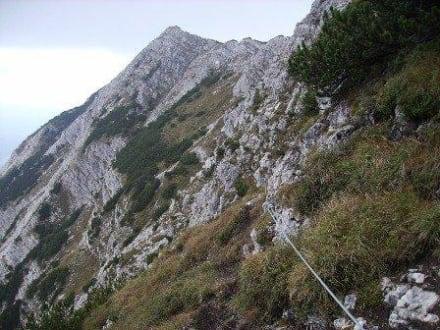 Klettersteig Oberjoch : Klettersteig oberjoch mit helmut metzler am juli alpenverein