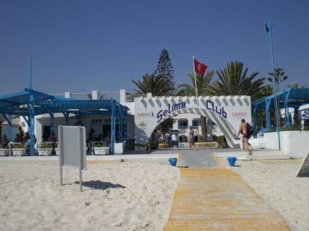 Hotel beach - Hotel El Mouradi Selima