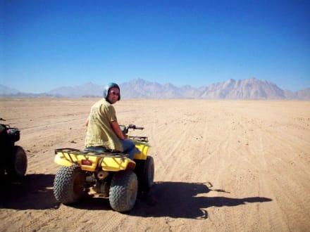 Quad Tour durch die Wüste bei Hurghada - Geführte Touren 1001 Nacht Safari Hurghada