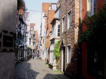 Bremens ältester Stadtteil - der Schnoor - Schnoorviertel