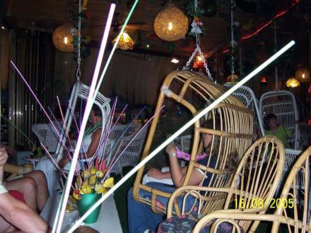 schaukelnde Sessel der Hawai Bar - Balihai Hawaii Bar