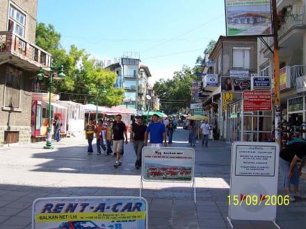 Shoppingmeile in Burgas - Einkaufen & Shopping