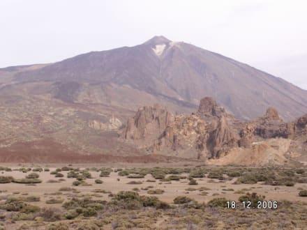 Ansicht auf den Teide - Teide Nationalpark