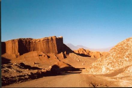 Tal des Mondes bei San Pedro - Valle de la Luna